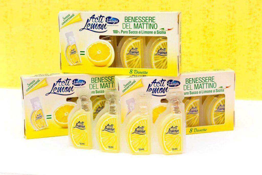 Acti Lemon, il benessere del mattino