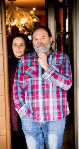 Cristina Giacomelli e Luciano Tona