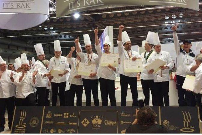"""Olimpiadi della Cucina di Erfurt: la squadra""""Costa del Cilento"""" è medaglia d'oro nella categoria """"Team Regionali"""""""