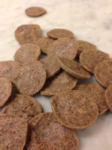 biscotti con farina di riso nero